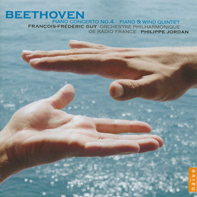 Ludwig Van Beethoven - Piano & orchestra concerto No. 4 in G major op. 58 - Orchestre philharmonique de Radio France - Philippe Jordan - Cd Naïve - 2008
