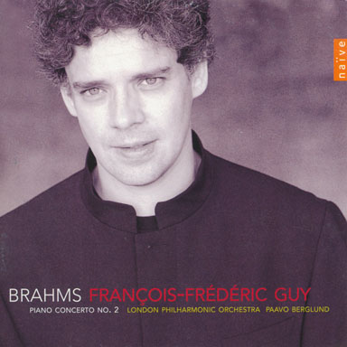 Cd - Piano concerto N°2 - Johannes Brahms - London Philharmonic Orchestra - Paavo Berglund - Naïve - 2003