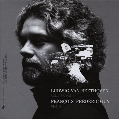 Cd François-Frédéric GUY - Ludwig Van Beethoven - The complete piano sonatas - Vol.1 - 3 Cd - ZIG ZAG Territoires - 2011