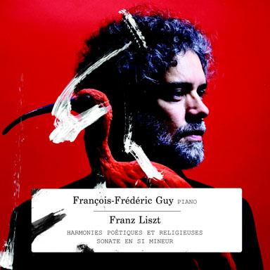 CD - François-Frédéric Guy - Franz Liszt - Harmonies poétiques et religieuses - Piano sonata in B minor - (2 Cd) - ZIG ZAG Territoires - 2011