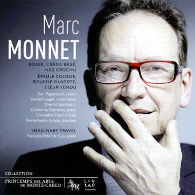 Cd - Marc Monnet - Bosse crane rasé nez crochu épaule cousue bouche ouverte - François-Frédéric GUY - ZIG ZAG Territoires