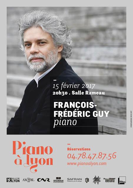 François-Frédéric Guy - Piano à Lyon - 2017